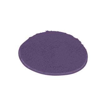 BolehDeals 100cm Fluffy Anti-Skid Shaggy Area Rug Bedroom Carpet Floor Mat Dark Purple - intl