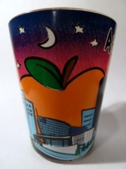 Atlanta Georgia Multicolor Skyline Shot Glass - intl