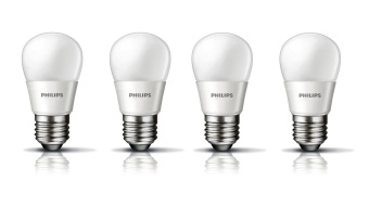 Philips LED Bulb 3W P45 - Putih - 4 Buah