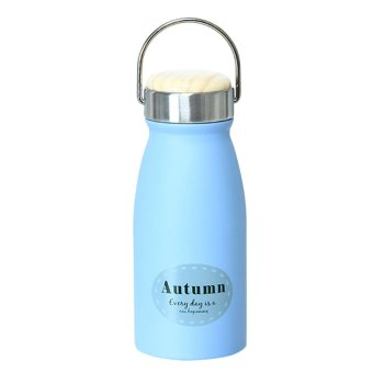 Harga Fashion 280ml heat preservation 304 stainless steel Vacuum water bottle