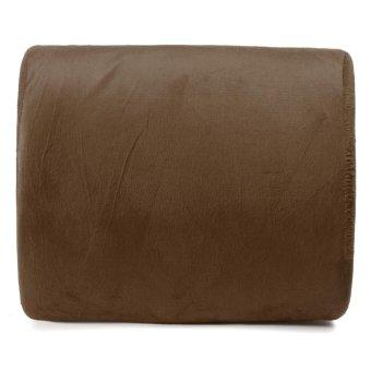 7pcs Memory Foam Lumbar Cushion Travel Pillow Car Flight Seat Home Chair Back Support - intl