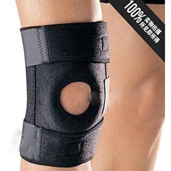 Universal Mountaineering Kneepad Power Brace - Black