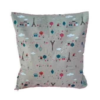 Throw Pillow Case Cushion Cover (Beige)