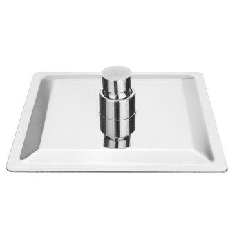 6'' Square Stainless Steel Bath Rain Shower Head Sprayer Chrome 360° adjustable - intl