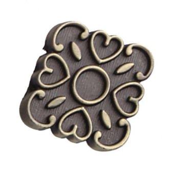 BolehDeals Vintage Antique Bronze Door Knob Cabinet Cupboard Drawer Closet Pull Handle - intl