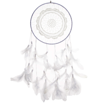 Lace Design Dream Catcher Feather Car-Wall Hanging Handmade Decoration