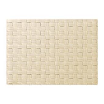 NEW - Ikea Ordentlig ~ Alas / Tatakan Piring / Makan | 46x33 Cm | Table Mat (Broken White)