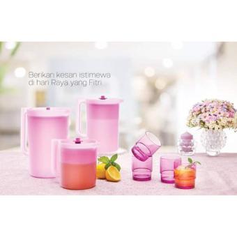 Purple Daisy Drinkware set - 7pcs