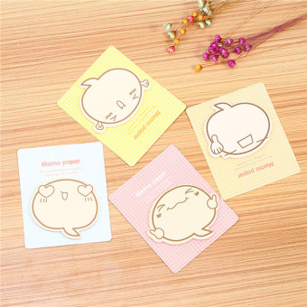 Sticky Notes Book Guest Article Cartoon Facial Expression(Good) - intl