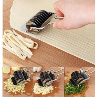 LZ Stainless Steel Manual Non-Slip Handle Pressing Machine Noodle Cutshallot Cutter Spaetzle Maker Pastry Tool For The Kitchenjd22 - Intl