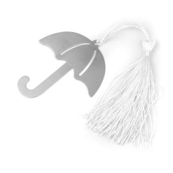 Wedding Favors Umbrella Bookmark with Tassels
