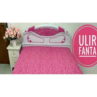 Sprei Jaxine Waterproof Anti Air+Set BG-Ulir Fanta