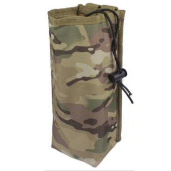 Outdoor Sport Tactical Gear Military Water Bottle Bag Kettle Heat Preservation Pot Pouch Camouflage Green