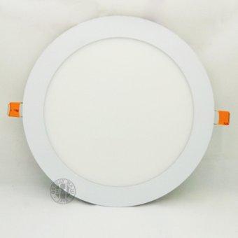LED Downlight 6500k Bulat 18watt - White