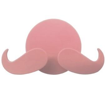 Harga Universal Gantungan Tempel Model Kumis Untuk Colokan/ Steker Listrik Universal - Merah Muda