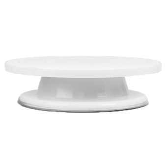 Turnable Rotating Revolving Wedding Birthday Cake Plateturntablecake Decorating Stand (Intl) - intl