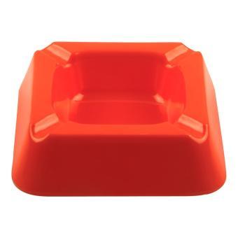 Asbak Segi Empat 5 inch Orange ( Isi 3 Pcs ) - Melamine Glori G3001ORG