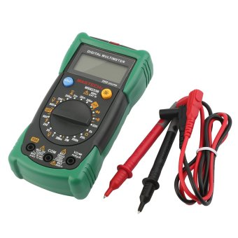 OH MASTECH MS8233B Digital Multimeter DMM AC/DC Volt AmmeterCapacitance Tester Black+green - intl