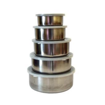 Universal Rantang 5 Susun Stainless Stell / Fress Box