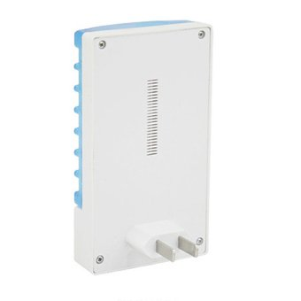 HKS Mosquito Killer LED Lamp for Pest Control Plug (White/Blue)