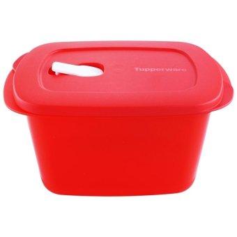 Jual Tupperware Cake Taker Rectangular New Series Merah Source · Harga Tupperware Crystalwave Rectangular 2 3L