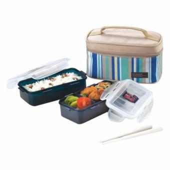 Lock&Lock Food Container HPL752 - RECTANGULAR FOOD CONTAINER 350ML