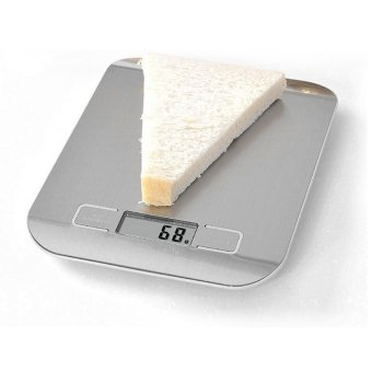 toobony 5kg Stainless Multifunctional Digital Kitchen Food Scale With LED Display - intl