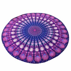 Indian Round Mandala Tapestry Wall Hanging Beach Towel Yoga Mat Decor Boho VBU80 T10 - Intl