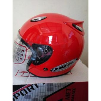INK Helm Ink centro magenta Polos - merah