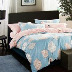 ISTANAKU Set Bedcover Dan Seprei Pandora Blue 160x200