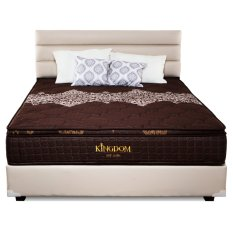 IVARO - KASUR SPRINGBED KINGDOM NEW ALONA UK 160x200 - BROWN