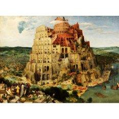 Jiekley Fine Art - Lukisan The Tower of Babel (Vienna) Karya Pieter Brueghel the Elder - 1563
