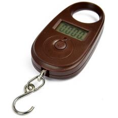 JinGle 25kg / 5g LCD Electronic Digital Mini Electronic Kitchen Scale (Coffee) (Intl)
