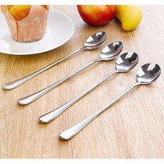 GE Stainless Steel Long-handled Spoon Stirring Spoon (Pointed Head) (INTL)