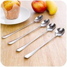 GE Stainless Steel Long-handled Spoon Stirring Spoon (Roundhead) (INTL)