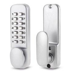 Keyless Mechanical Digital Push Button Door Lock Zinc Alloy Home Entry
