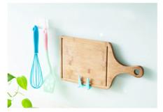 Kitchen Hanging Rack Strong Viscose Shelf Sponge Holder Blue