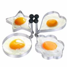 Kitchen Tool Stainless Steel Pancake Mold Ring Cooking Fried Egg Shaper - Plum Flower