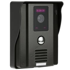 "KKMOON 7"" Video Door Phone Intercome Doorbell Remote Unlock Night Vision Rainproof Security CCTV Camera Home Surveillance TP01H-12"