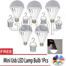 LED Autolamps Bohlam Emergency 12W + Hook Free USB LED Portable Mini Light Lamp Bulb