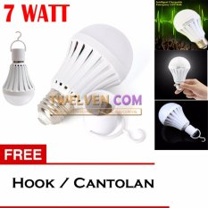 LED Autolamps Bohlam Emergency 7W + Hook