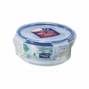 Lock&Lock Food Container HPL934C- ROUND SHORT 140ML W/Divider