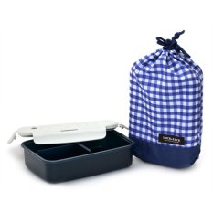 Lock&Lock 1 Layer Lunch Box with Bag - S - Navy Blue