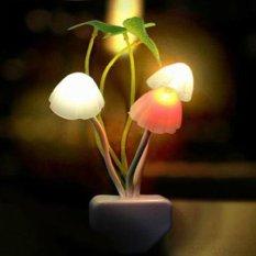 Lucky - Lampu Tidur Jamur Multi Color LED / 1 Pcs