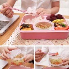 Lunch Box / Kotak Makan / Lunch Box Yooyee Plus Tempat Sup 5 Sekat Bento