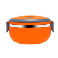 LZ 304 Stainless Steel Four Layer Lunch Box.Plastic Lunch Box Lunchboxbento Lunch Box Food Container Children's Lunch Box (Orange) - Intl