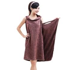 LZ Magic Super Absorbent Microfiber Bath Towel Fashion Sleeping Skirtfor Ladies - Intl