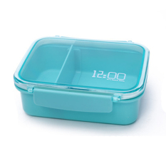 LZ Plastic Lunch Box.Dinner Pail.Thermal Insulation Bento Box.Snackpicnic Box.Fresh Keeping Storage Box.Vegeable &Amp; Fruit Box.Homeliving &Amp; Outdoor Lunch Box. (Blue) - Intl