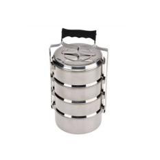 Maspion Rantang Susun 4 Stainless Steel -16 Cm - Silver