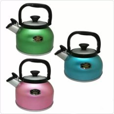 Maspion Teko Bunyi Whistling Kettle Rigoletto 2.5Liter (Warna Random)